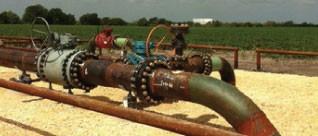 rusted pipeline
